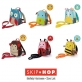 SKIP HOP Zoo Let Safety Harness Mini Backpack with Rein - Monkey