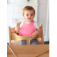 Make My Day Silicone Baby Bib - Pretty in Pink