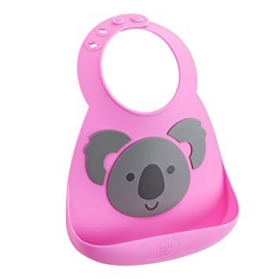 Make My Day Silicone Baby Bib - Koala Bear With Me