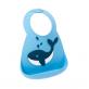 Make My Day Silicone Baby Bib - Whale Make A Splash