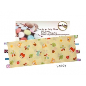 Beanie Nap Pillow Cover with Taggies - Teddy