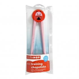 SKIP HOP Zoo Training Chopsticks - Ladybug