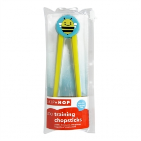 SKIP HOP Zoo Little Kid Training Chopsticks - Bee