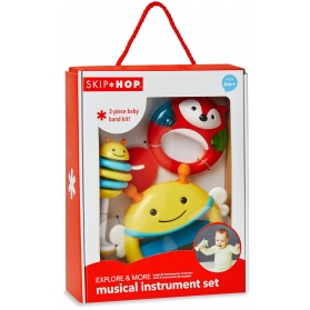 SKIP HOP Explore & More Musical Instrument Set (3 pieces)