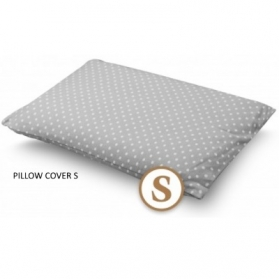 COMFY LIVING PILLOW COVER (S)  - GREY DOT