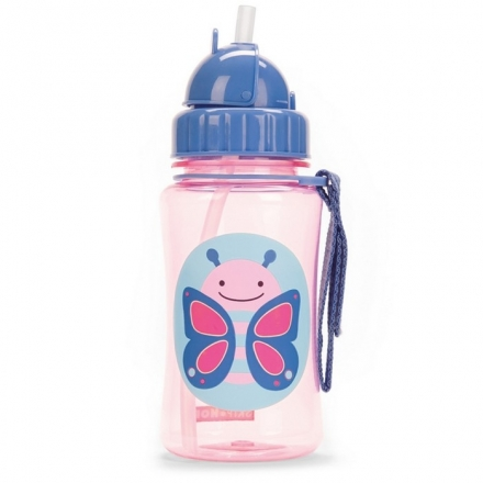 Skip Hop Zoo Straw Bottle - Butterfly