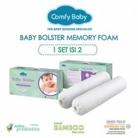 ComfyBaby Purotex Memory Foam Baby Bolster (Twin Pack)