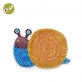 Oops My Nap Friend Baby Comforter Soft Toy - Mushee The Snail