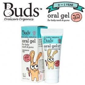 BUDS ORGANIC ORAL GEL TOOTHPASTE FOR BABY TEETH & GUMS (30ML)