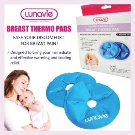 Lunavie Hot & Cold Breast Thermo Pad 2pcs/pack