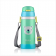 RELAX 360ML KIDS THERMAL FLASK BOTTLE [REPLACEMENT LID] - GREEN PANDA