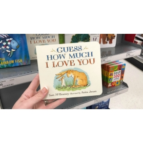 Guess How Much I Love You by Sam McBratney (Mini Board book)