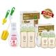 SIMBA Newborn Starter Kit Set PPSU Bottles (Cross Hole) & Cleanser - Green