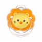 SIMBA 3D Thumb Shape Pacifier with Case - Simba Lion (0m+/6m+)