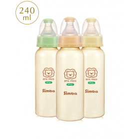 SIMBA PPSU Feeding Bottle - Standard Neck 240ml (8oz)