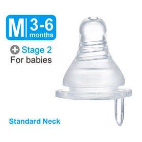 SIMBA MOTHER´S TOUCH ANTI-COLIC NIPPLE-CROSS HOLE (M)