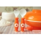 SIMBA Warming Suction Plate with Fork & Spoon Set (Come with Cover)