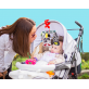 Joan Miro Baby Vision Stimulation Black & White Flashcards and Mobile Combo