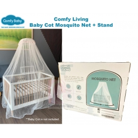 Comfy Baby Comfy Living Baby Cot Mosquito Net 360° Fine Hexagonal Mesh Protection