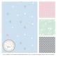 Comfy Baby Comfy Living Comforter Baby Blanket 80x110cm - Blue Star