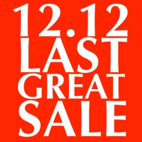 12.12 MERRY MARKDOWNS YEAR END SALES