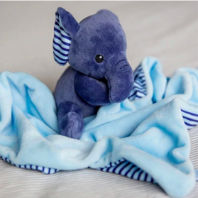 Bubble Buddies Baby Comforter - Ryan the Elephant