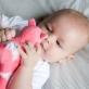 Bubble Buddies Baby Comforter - Lola the Llama