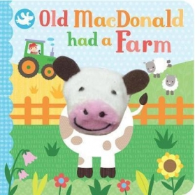 Little Me Finger Puppet Book - Old MacDonald Had A Farm