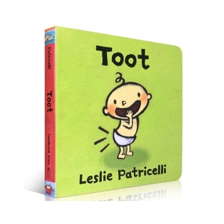 Toot (Board Book) by Leslie Patricelli