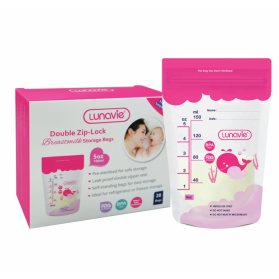 LUNAVIE BREAST MILK STORAGE BAG (5oz/150ml) 25pcs