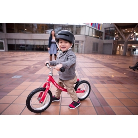 "ASOGO 12"" BALANCE BIKE WITH FOOT REST"