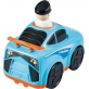 Infunbebe Unbreakable Press and Go Police Car Vehicle Toy forKids