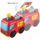 Infunbebe Unbreakable Press and Go Fire Engine Vehicle Toy forKids