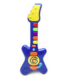 infunbebe Rock Lights N Roll Guitar Little Rock Star Guitar