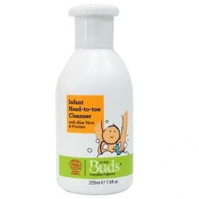BUDS ORGANIC Infant Head To Toe Cleanser (225ml)