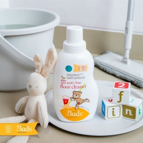 BUDS Baby Organic Baby Safe Anti-Bacterial Floor Cleaner (600ml)