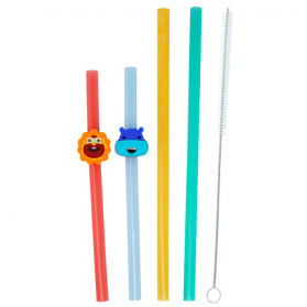 Marcus & Marcus Convenient Reusable Straw Family Set