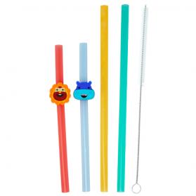 Marcus & Marcus Convenient Reusable Straw Family Set