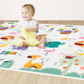 Marcus & Marcus Revesible Foldable Playmat with Storage Bag - ABC
