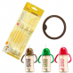 SIMBA PPSU Sippy Cup Accessories [Replacement Straws and Anti-Leaking Silicone Ring]