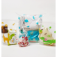 KMOM Anti-Bacterial Zipper Bag Size S - 15pcs (14x15cm) Ladybug