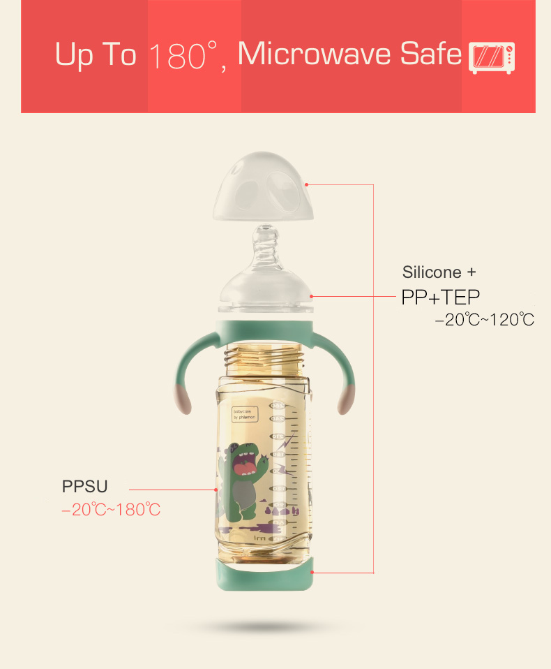 ppsu milk feeding bottle