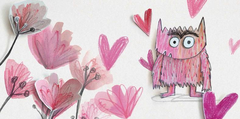 我的情绪小怪兽绘本