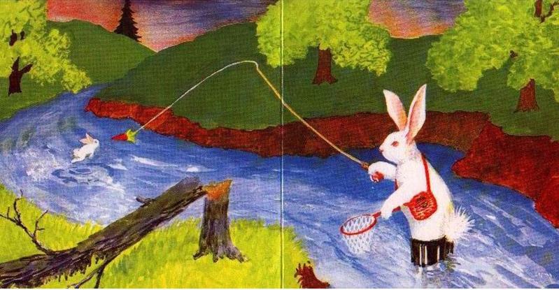 经典获奖亲情绘本逃家小兔
