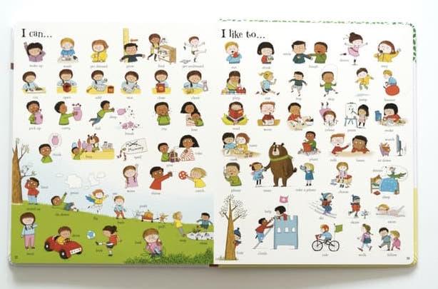 ursbone vacabulary picture book