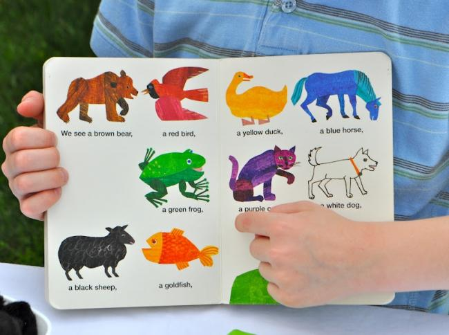 board book brown brown bear what do you see eric carle and bill martin Jr