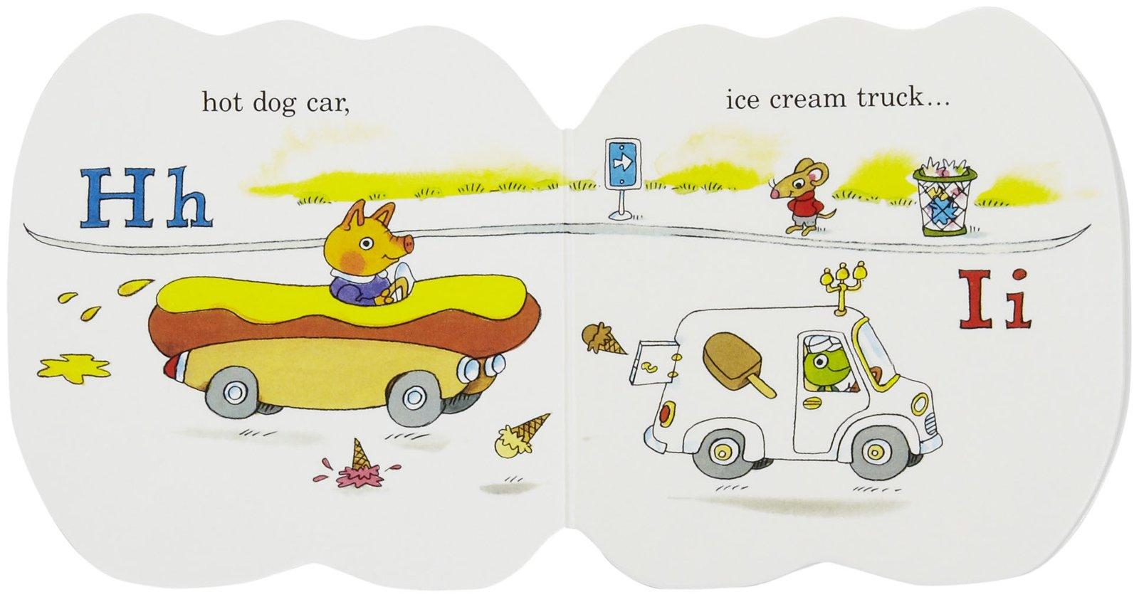 cars and trucks learn abc