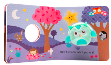 twinkle twinkle little star finger puppet board book