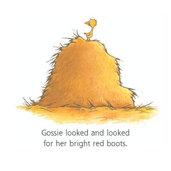 gossie a gosling on the go by olivier dunrea board book