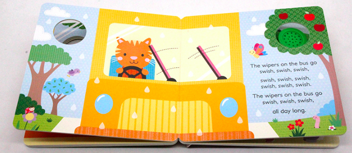 sing along sound book the wheels on the bus